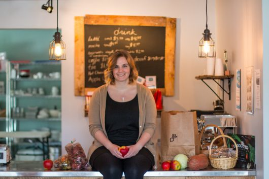 Emma Kiley, Owner of Uprooted Market & Cafe, Nova Scotia